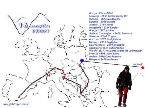 """""""16 szczytów Europy"""" – spotkanie z Henrykiem Jankowskim w Cafe Kontynenty"""