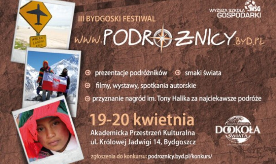 III Bydgoski Festiwal Podróżnicy