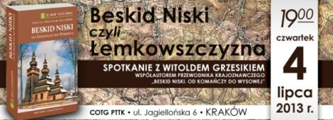 Beskid Niski, czyli Łemkowszczyzna. Spotkanie z Witoldem Grzesikiem