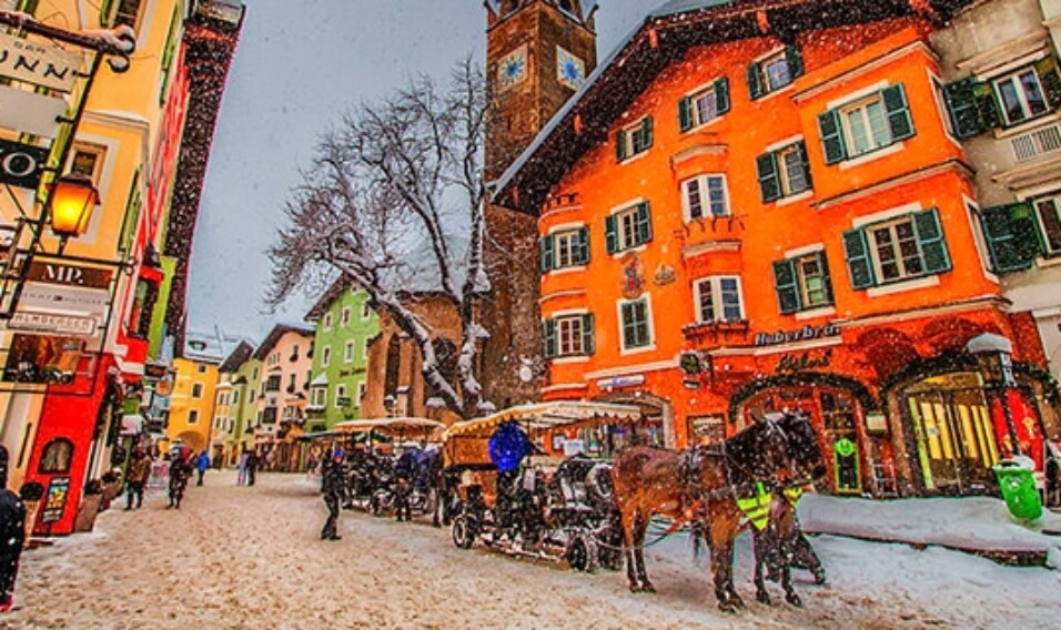 Kitzbühel uznany za najlepszy teren narciarski na świecie