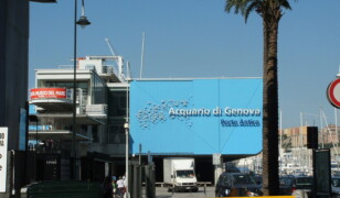 Akwarium w Genui