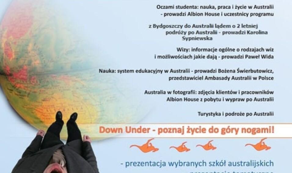"""""""Down Under – poznaj życie do góry nogami"""". Trzecia edycja polskich """"Dni Australii"""""""