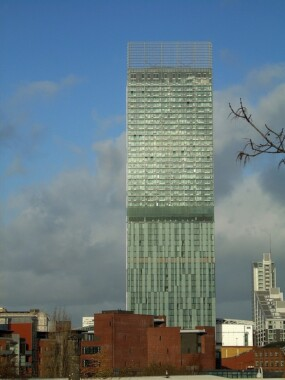 Beetham Tower w Manchesterze
