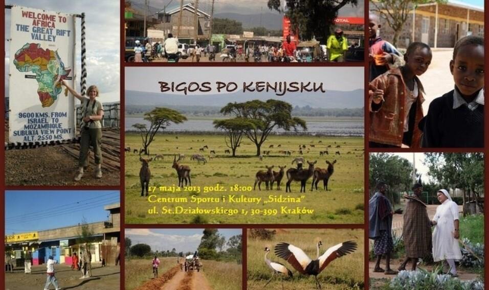 """""""Bigos po kenijsku"""", czyli afrykańskie opowieści w Sidzinie"""