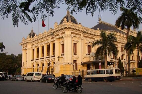 Budynek opery w Hanoi
