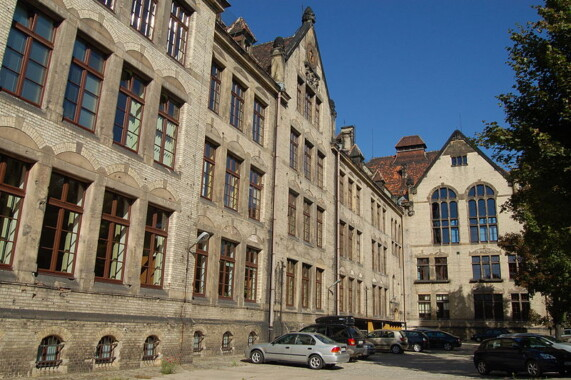 Budynki Instytutu Pedagogiki i Psychologii Uniwersytetu Wrocławskiego
