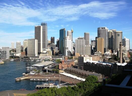Centrum finansowe w Sydney