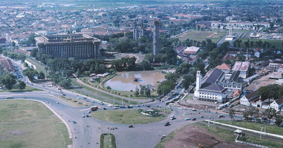 Widok na Centrum Dżakarty