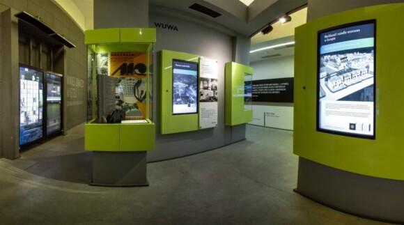 Ekspozycje w Centrum Poznawczym w Hali Stulecia