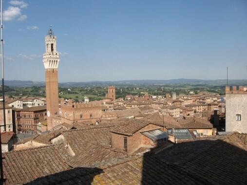 Zabytkowe centrum w Siena