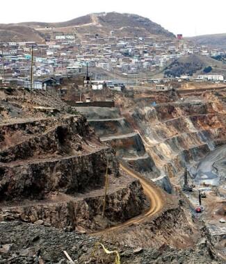 Kopalnia w Cerro de Pasco
