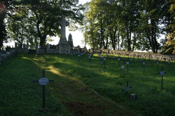 Cmentarze wojenne w Bochni