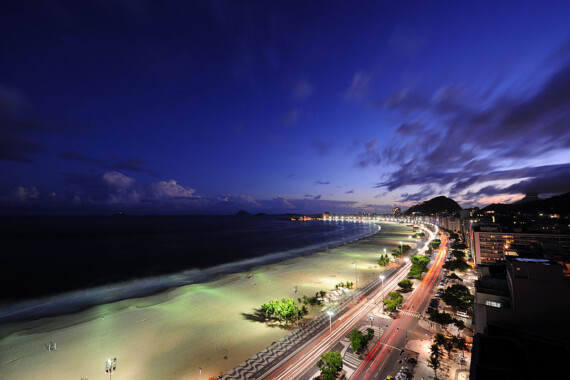 Plaża w Copacabana