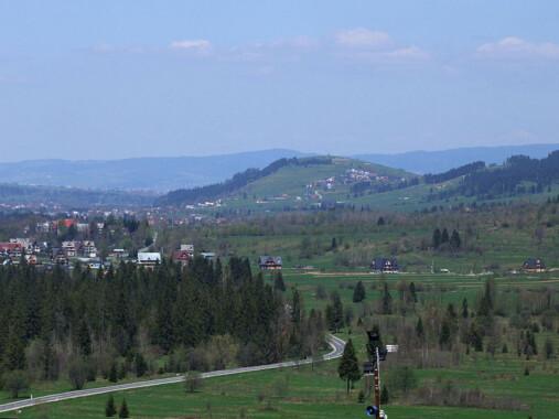 Czarna Góra koło Białki Tatrzańskiej