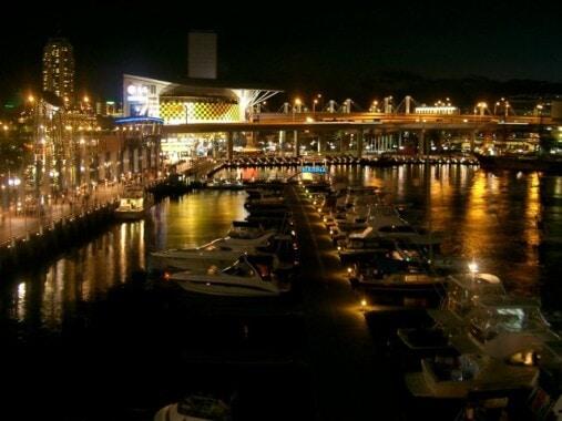 Darling Harbour nocą