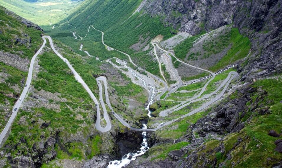 8 najbardziej krętych dróg świata