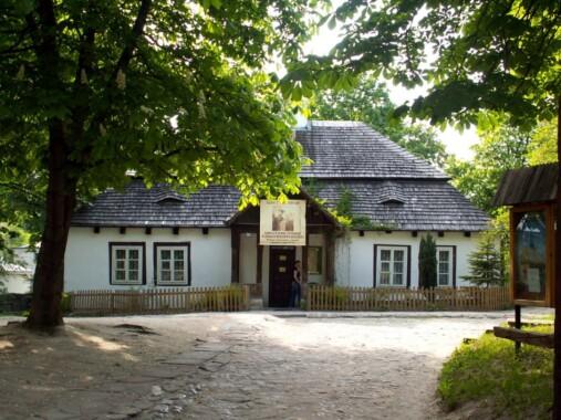 Dworek Laszczyków w Kielcach – siedziba Muzeum Wsi Kieleckiej