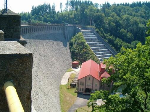 Elektrownia i zapora Pilchowice
