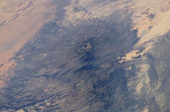Emi Kussi – góry Tibesti