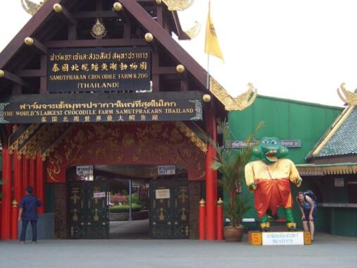 Farma krokodyli Samutprakan