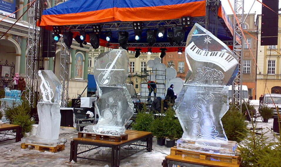 Międzynarodowy Festiwal Rzeźby Lodowej w Poznaniu
