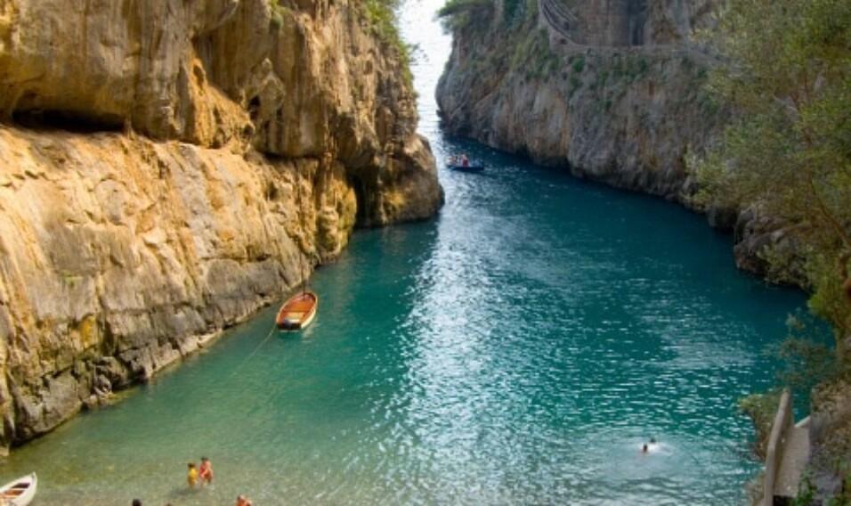 Plaża Fiord Furore, Włochy