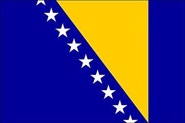 Bośnia i Hercegowina flaga