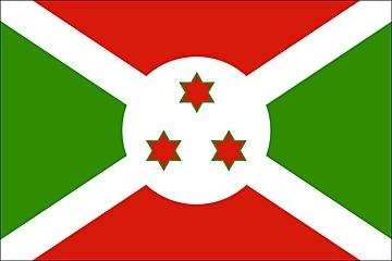 Burundi flaga