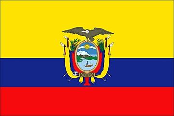 Flaga Ekwadoru