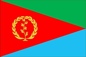 Flaga Erytrei