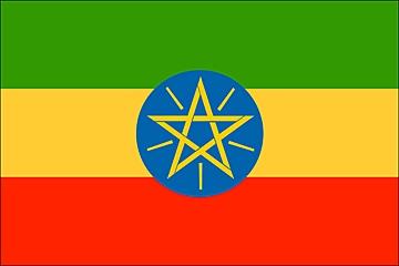 Etiopia flaga