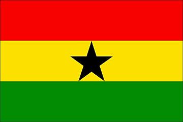 Ghana flaga