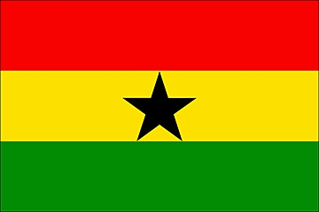 Flaga Ghany