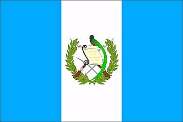 Flaga Gwatemali