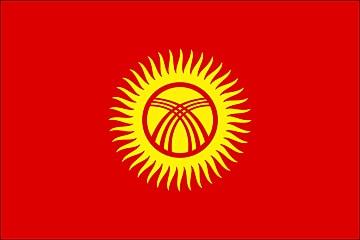 Kirgistan flaga