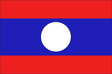 Laos flaga