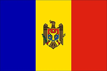 Mołdawia flaga
