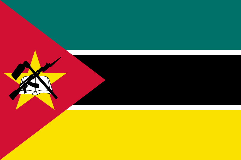 Mozambik flaga