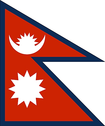 Nepal flaga