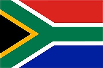 Republika Południowej Afryki flaga