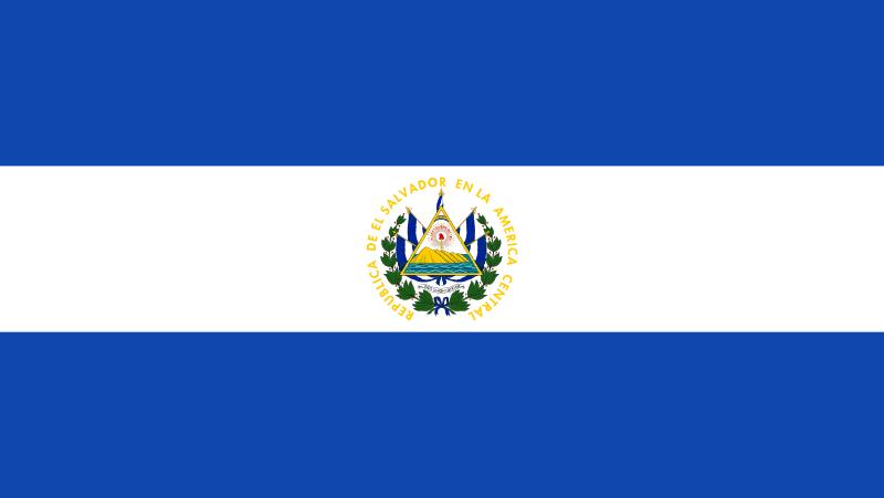 Salwador flaga