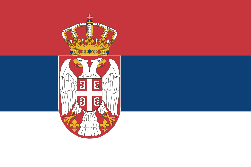 Serbia flaga