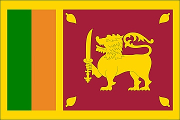 Sri Lanka flaga