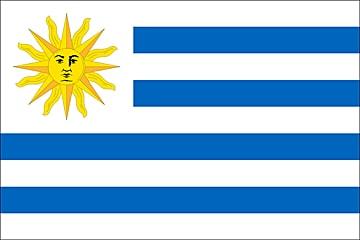 Urugwaj flaga