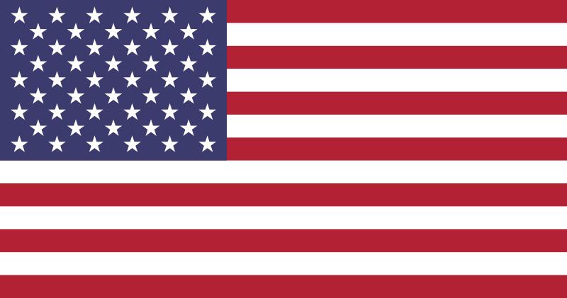 Stany Zjednoczone flaga