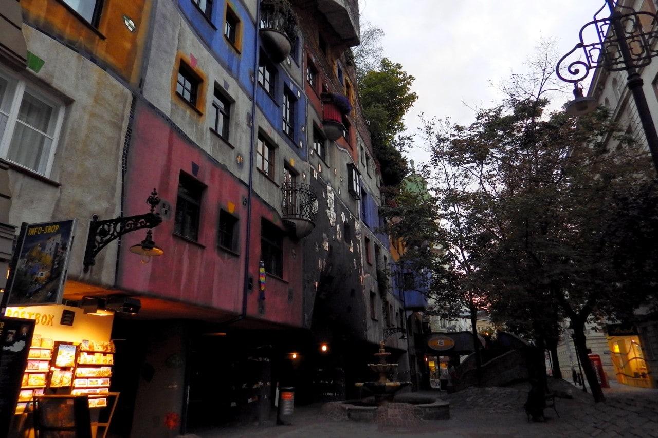 Hundertwasserhaus, Wiedeń