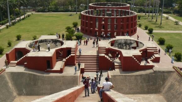 Obserwatorium Jantar Mantar w Delhi
