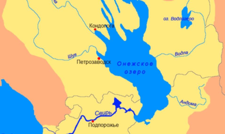 Jezioro Onega