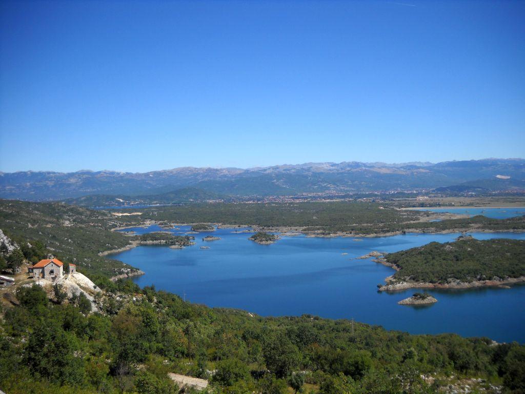 Jezioro Slansko koło Nikšićy