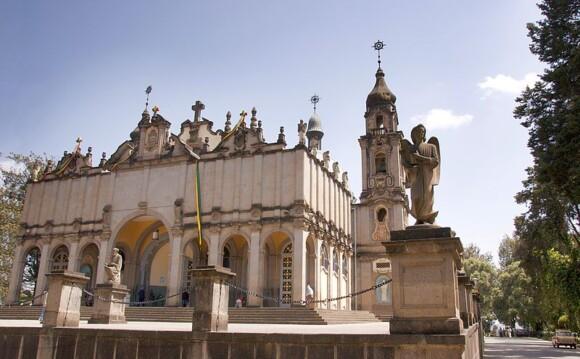 Katedra Trójcy Świętej w Addis Abebie